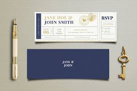 wedding invitation ticket template 29 ticket invitation templates free premium download