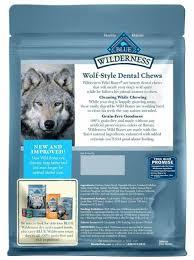 Blue Buffalo Wilderness Dental Chews Wild Bones Large 10oz