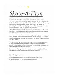 Kimberley Skating Club :: Skate-A-Thon Pledge Form