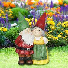 resin garden gnome statues figurine