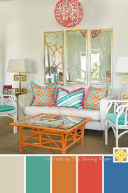 Turquoise Color Scheme Living Room Living Room Design Interiors By The Sewing Room