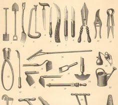 antique garden tools.  Tools Gardening Tools Antique Engraving To Frame Inside Garden O