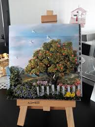 Small Picture My gardenpapertoleorange treeSMBL ELDEK ATLYEM TERAP