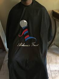Design Your Own Barber Cape Customized Barber Cape Sweatshirts Fashion Barber Shop