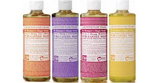 celebrity and magazine makeup artist jo hazlewood ments i love dr bronner s soaps to clean my makeup brushes
