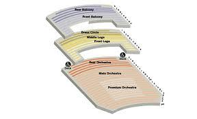 seating charts to atlanta symphony hall