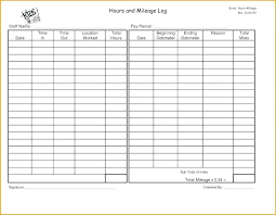 Mileage Log Excel 9 Mileage Reimbursement Form Template Mileage Log