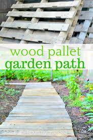 wood pallet garden crafts
