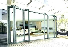 awesome bi fold glass doors exterior cost gallery ideas house folding large
