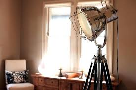 home theater floor lighting. floor lamp tripod theatre spotlight home lighting tribedesign theater