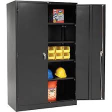 metal storage cabinet. Global\u0026#8482; Heavy Duty Storage Steel Cabinet Easy Assembly 48x24x78 Black- Pkg Qty 1 Metal 3