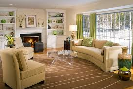 Warm Colored Living Rooms Interior Design