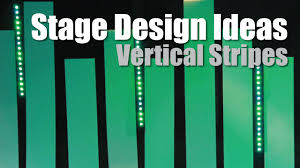 Church Stage Design Ideas Church Stage Design Ideas Vertical Stripes Coroplast