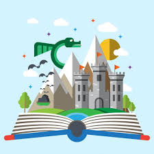 kids story book free vector