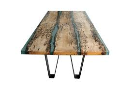 wood and resin table view in gallery poetic wood and resin boat inspired dining table 1 wood and resin table