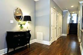 wall paint for brown furniture. Light Grey Walls Hallway With Wall Colors And Wooden Floors Paint Brown Furniture For