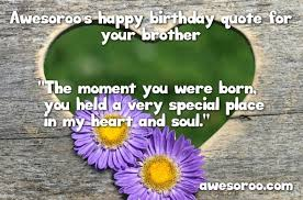 Soul Sister Quotes Custom 48 [BEST] Happy Birthday Brother Status Quotes Wishes 48
