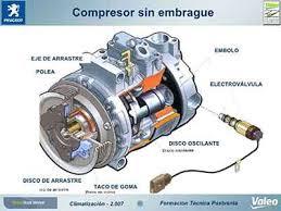 compresor de aire acondicionado de autos. mantenimiento aire acondicionado compresor de autos