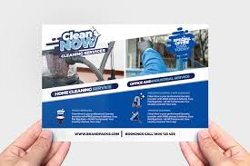 House Cleaning Services Flyers Cleaning Service Flyer Template Company Flyers In Psd Ai
