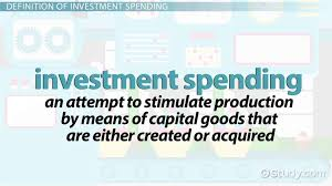 investment spending definition formula lesson transcript study com