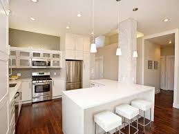 Large Kitchen Layout Kitchen Islands Recessed Lighting In Kitchen Design L Shape