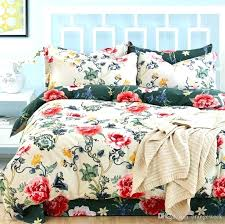 white comforter with pink flowers black and white fl comforter set queen styles bed sheet luxury