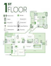 Library Floor Plans University Of Hawaii Manoa Library Website