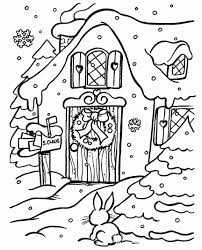 Casa Di Babbo Natale Disegno Tuttosunoto