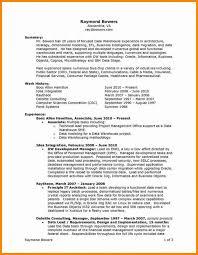 Resume Executive Summaries Resume Writing Services Denver Fresh Resume Executive