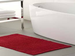 home accessories tropical bath rugs in red tropical bath