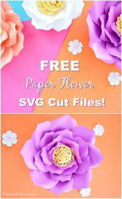 Cut the petals from the free template. Free Flower Template How To Make Large Paper Flowers Free Paper Flower Templates Paper Flower Template Large Paper Flower Template