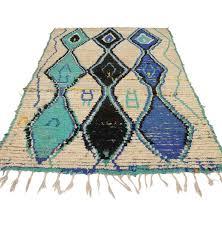 boho chic vintage berber moroccan rug with modern tribal boho chic rugs uk