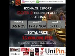 ikona oi esport dota 2 online league wave 3 final youtube