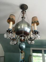 top 47 blue ribbon blue silver beauty chandelier winch let there light on the ceiling