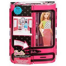 <b>Barbie</b>: Игрушка <b>Шкаф</b> для <b>куклы</b> с н-ром аксессуаров