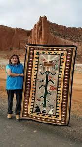 blue navajo rugs. Interesting Navajo Cornstalk Yei Pictorial Navajo Rug Woven By Master Weaver Selena Yazzie Throughout Blue Rugs B