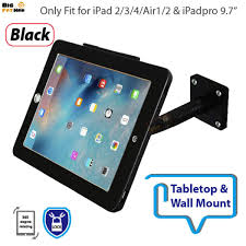 stand for any viewing angles security gooseneck tabletop wall mount holder for ipad air12 pro anti