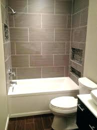 tile around bathtub bathtubs grouting in surround love this color and the subway shower faux