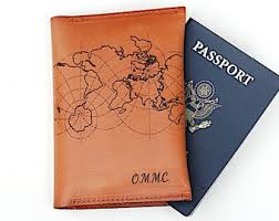 personalized pport cover monogrammed pport pport holder adventure wander leather pport holder custom monogramed pport