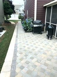 backyard patio material ideas surface materials outdoor furniture