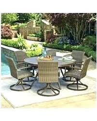 round outdoor patio tables hot member s mark dining set inside 7 piece outdoor decor