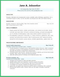 Student Nurse Sample Resume