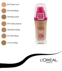 2 x l 39 oreal infallible advanced never fail makeup foundation 606 natural buff to enlarge loreal