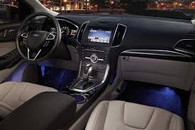 Ford Focus 2019 Ambient Lighting 2018 Edge Titanium Interior With Ambient Lighting Ford