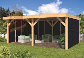 diy flat roof maaseik beaver log cabins 45x9005 001