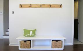 Bench And Coat Rack Entryway Mudroom Entryway Bench Coat Rack Diy Stunning With Entry 92