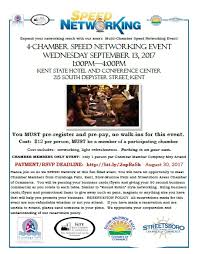 Cuyahoga Falls Chamber Of Commerce 4 Chamber Speed Networking