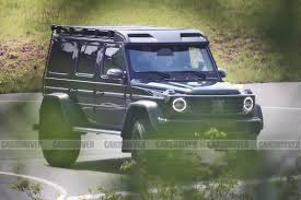Pricing for the base g550 starts around $123,000, but the g550 4x4 squared has a starting price of $225,925. Mercedes Benz G Wagen Getting New 4x4 Or Brabus Variant