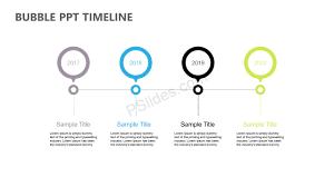 Timeline On Ppt Bubble Ppt Timeline Pslides
