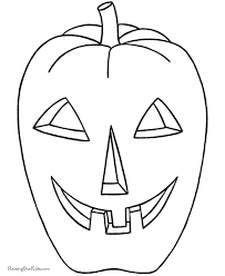 Small Picture Preschool Halloween coloring pages Pumpkin 003